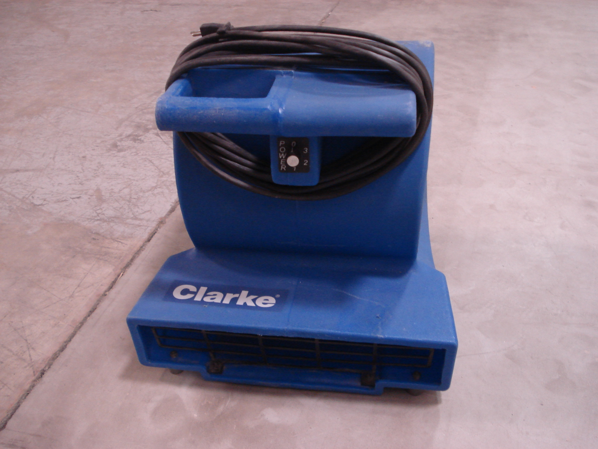 Used Clarke Alto Direct Air 3 Blower Fan For Sale