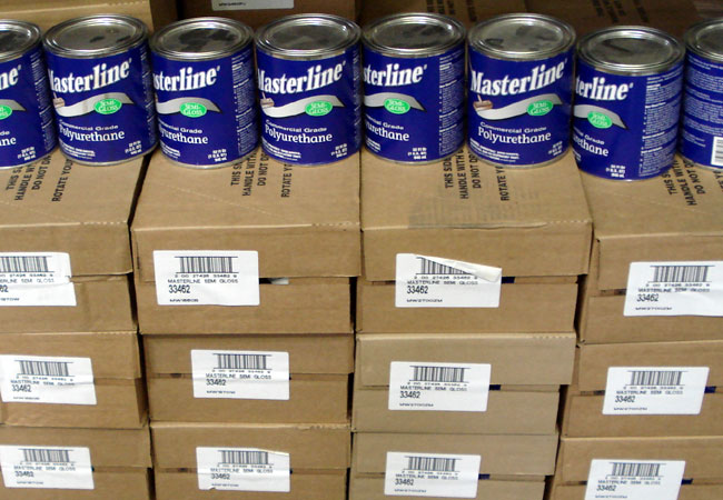 Masterline Poly : Masterline Polyurethane Wood Floor Finish Semi