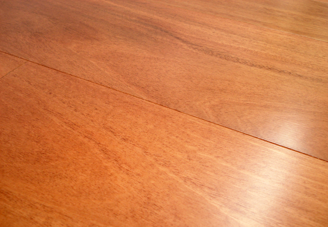 Owens flooring santos mahogany select factory finished for Mahogany flooring
