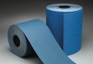 Norton Abrasives Blue Fire Drum Sander Paper 8 Inch X 25 Yard