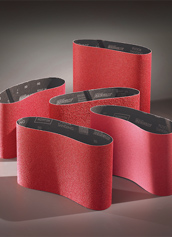 Norton Abrasives Red Heat Floor Sander Belts 8 Inch x 19 Inch