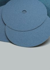 Norton Abrasives Blue Fire Bolt-On Edger Discs 7 Inch x 5/16 Inch Hole
