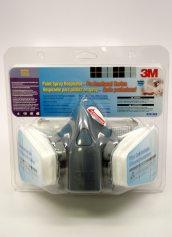 3m 6000 series full facepiece paint spray pesticide respirator. Black Bedroom Furniture Sets. Home Design Ideas