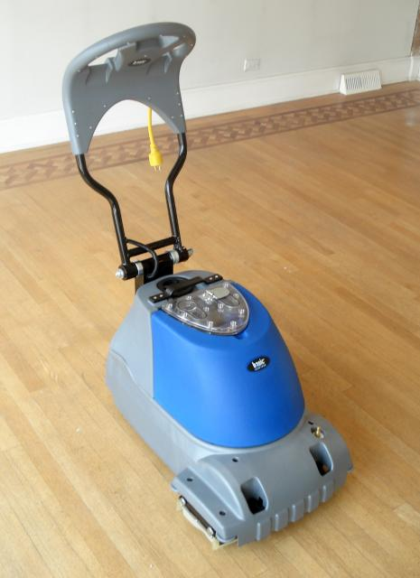 Hardwood Floor Scrubber Basic Coatings Dirt Prep
