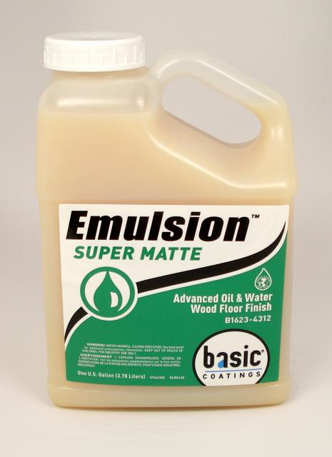 Basic Coatings Emulsion Por Super Matte Waterbased Wood