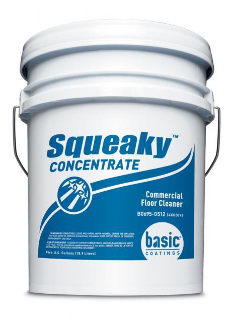 Basic Coatings Squeaky Hardwood Floor Cleaner Concentrate