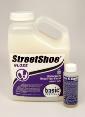 Basic Coatings StreetShoe Gloss Waterbased Wood Floor Finish