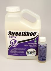 Basic Coatings StreetShoe Satin Waterbased Wood Floor Finish