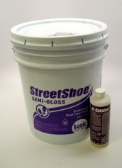 Basic Coatings StreetShoe Semi Gloss Waterbased Wood Floor Finish
