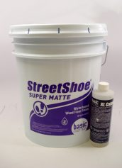 Basic Coatings StreetShoe Super Matte Waterbased Wood Floor Finish