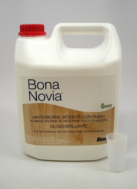 Bona Novia Waterborne Wood Floor Finish Gloss Gallon