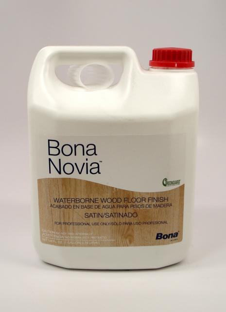 Bona Novia Waterborne Wood Floor Finish Satin Gallon