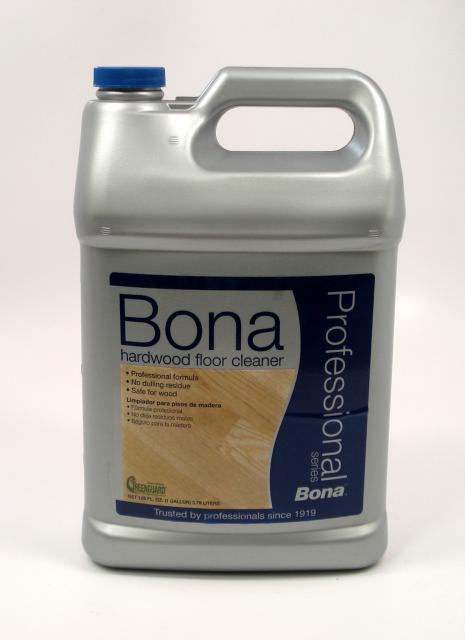 Bona pro series hardwood floor cleaner refill gallon for Wood floor cleaner bona