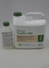 Bona Traffic HD Waterborne Wood Floor Finish High Durability Commercial Satin