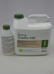 Bona Traffic HD Waterborne Wood Floor Finish High Durability Commercial Semi Gloss