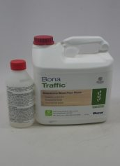 Bona Traffic Waterborne Wood Floor Finish Commercial Semi Gloss