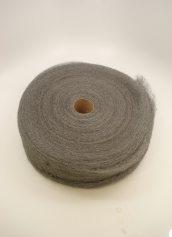 Chicago Hardwood No. 2 Steel Wool Reel Medium Coarse 4 Inch Wide 5 Pounds