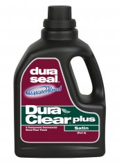 Dura Seal DuraClear Plus Satin Water Based Commercial Wood Floor Finish