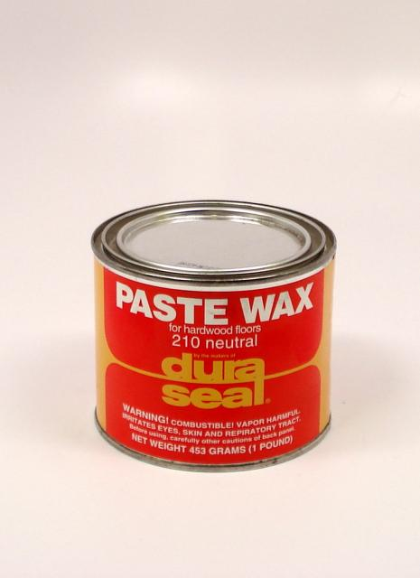 Dura Seal Paste Wax For Wood Flooring Neutral Pound