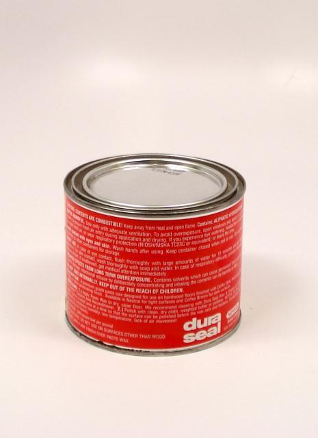 Dura Seal Paste Wax For Wood Flooring Neutral Pound