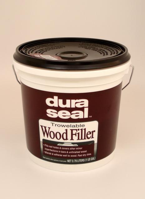 Dura Seal Red Oak Trowelable Wood Filler Gallon | Chicago Hardwood ...