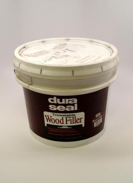 how to use wood filler on floor