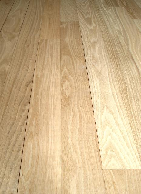 Henry county hardwoods unfinished solid white oak hardwood for Unfinished oak flooring