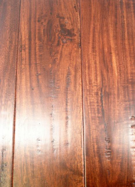 Black asian hardwood flooring