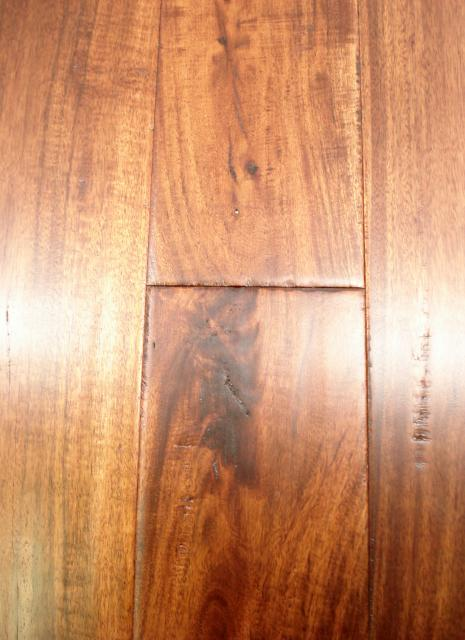 Lw mountain hardwood floors acacia golden topaz one strip for Hardwood flooring 4 inch