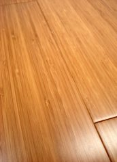 LW Mountain Hardwood Floors Solid Prefinished Carbonized Vertical Grain Bamboo Flooring 3 Foot Lengths