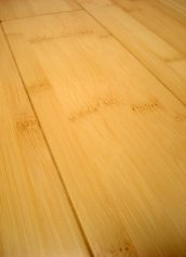 LW Mountain Hardwood Floors Solid Prefinished Natural Horizontal Grain Bamboo Flooring 3 Foot Lengths