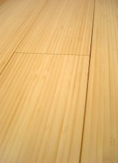 LW Mountain Hardwood Floors Solid Prefinished Natural Vertical Grain Bamboo Flooring 3 Foot Lengths