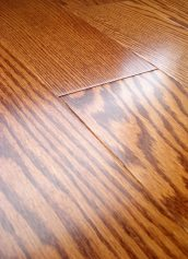 LW Mountain Hardwood Floors Oak Jefferson Stain One Strip Click Engineered Hardwood Flooring 125 mm Wide