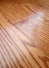 LW Mountain Hardwood Floors Oak Lincoln One Strip Click Engineered Hardwood Flooring 125 mm Wide