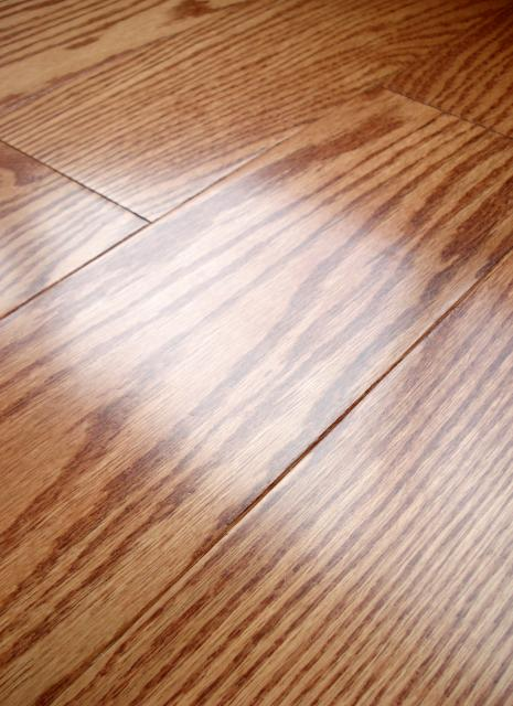 Lw mountain hardwood floors oak lincoln one strip click for Click hardwood flooring