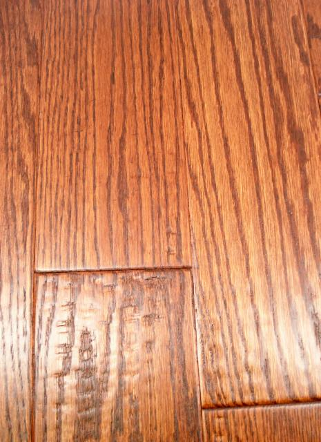 Lw Mountain Hardwood Floors Oak Saddle Stain One Strip