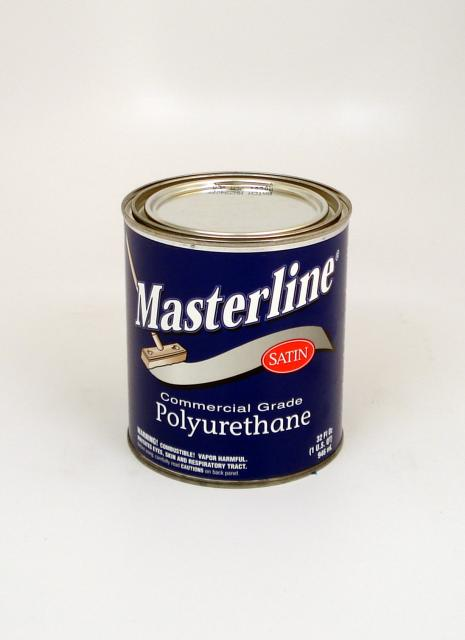 Masterline oil based polyurethane wood floor finish satin for Oil based floor stain