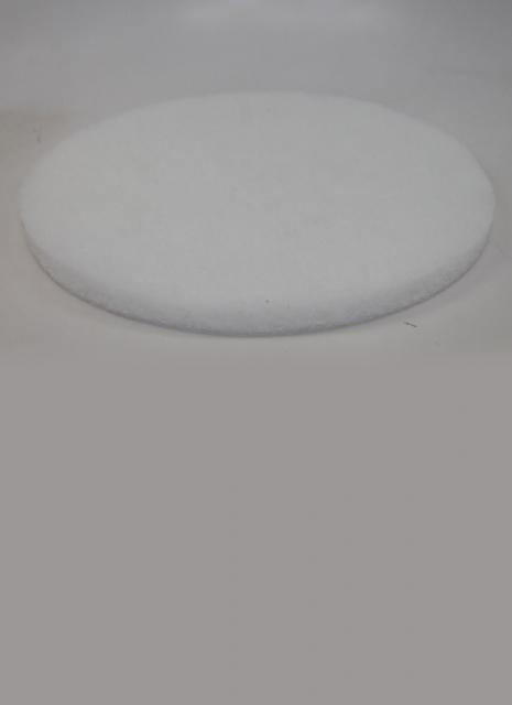 Norton Abrasives 15 Inch White Super Gloss Buffing Pad