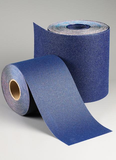 Hardwood Paper Rolls ~ Norton abrasives grit blue fire floor sander drum paper