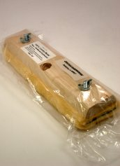Nottingham Wood Products Complete 10 Inch Wide x 3/4 Inch Thick Lambswool Block and Pad Floor Finish Applicator