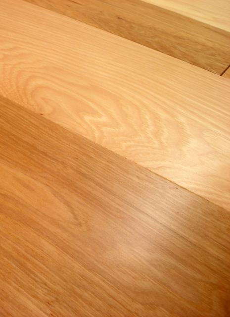 Owens flooring 5 inch hickory 1 common and better grade for Hardwood floors 5 inch