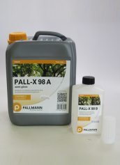 Pallmann Pall-X 98 Semi-Gloss Two Component Waterborne Floor Finish
