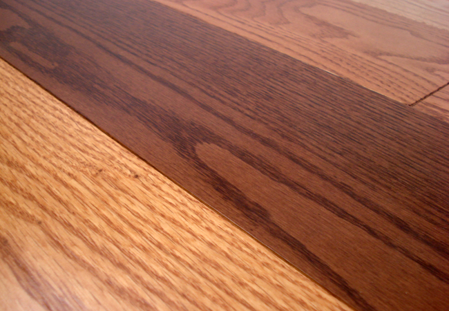 Owens flooring red oak select factory finished engineered for Natural oak wood flooring