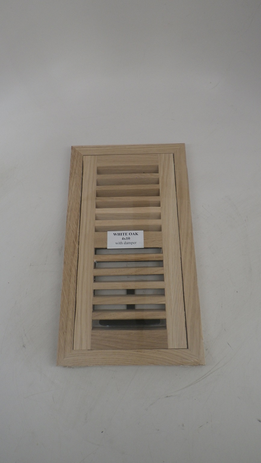 Chicago Hardwood White Oak Hardwood Floor Vents