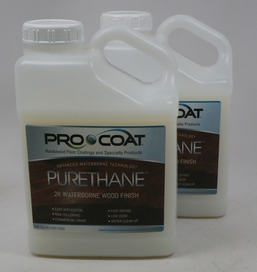 ProCoat Purethane Waterborne Wood  Finish