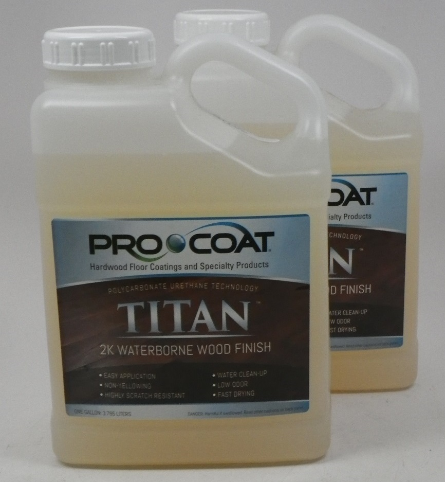 ProCoat Titan Waterborne Wood  Finish