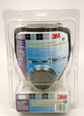 3M 68P71 Low Maintenance Full Facepiece Respirator Medium