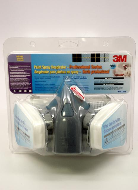 3m 7512es Professional Series Paint Spray Respirator