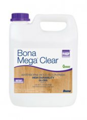 Bona Mega Clear HD Gloss Water Based Wood Floor Finish