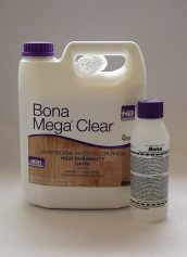 Bona Mega Clear HD Satin Water Based Wood Floor Finish